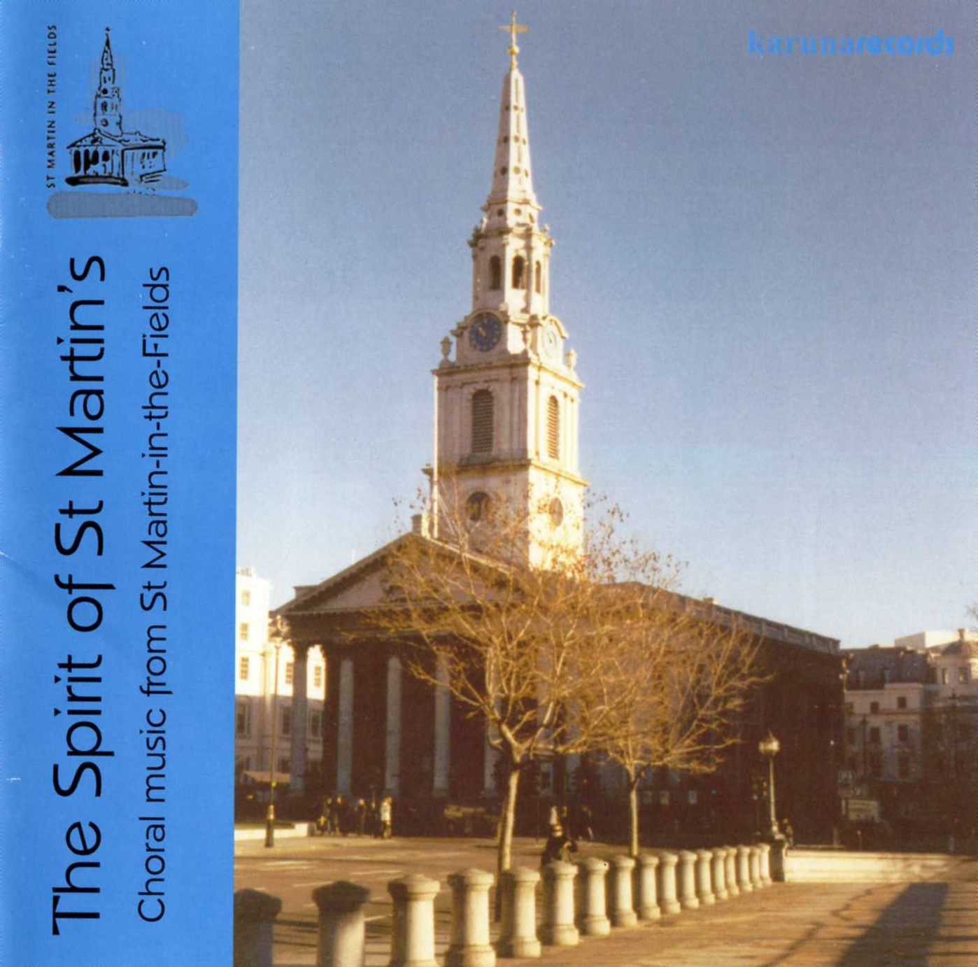The Spirit of St Martin's (Choral music from St Martin-in-the-Fields) front cover